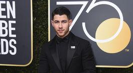 Herec a spevák Nick Jonas.