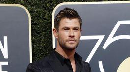 Herec Chris Hemsworth.