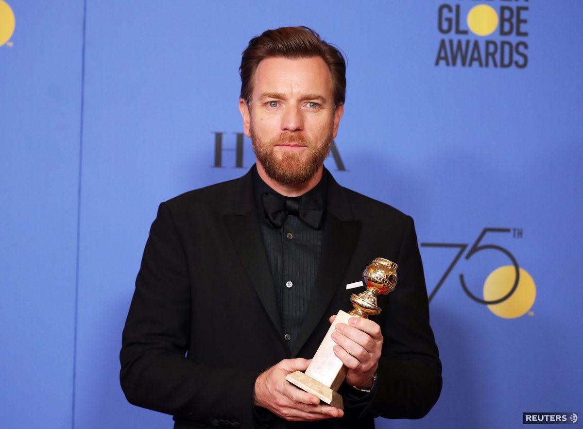 Herec Ewan McGregor ďakoval za cenu v seriáli...