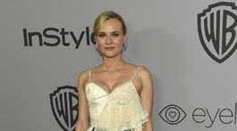 Herečka Diane Kruger prišla v kreácii Alexander McQueen.