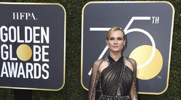 Herečka Diane Kruger v kreácii Prada.