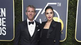 Herečka Gal Gadot a jej životný partner Yaron Versano.