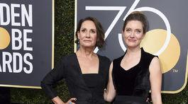 Herečka Laurie Metcalf a jej dcéra Zoe Perry.