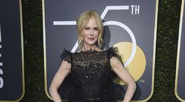 Herečka Nicole Kidman sa objavila na červenom koberci v kreácii Givenchy.