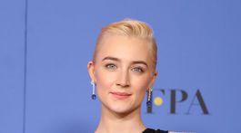 Herečka Saoirse Ronan si odniesla cenu za výkon vo filme Ladybird.