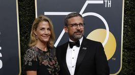 Herecký manželský pár Steve a Nancy Carell.