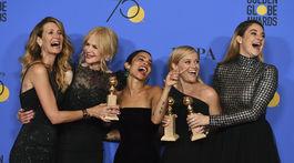 Laura Dern, Nicole Kidman, Zoe Kravitz, Reese Witherspoon a Shailene Woodley.