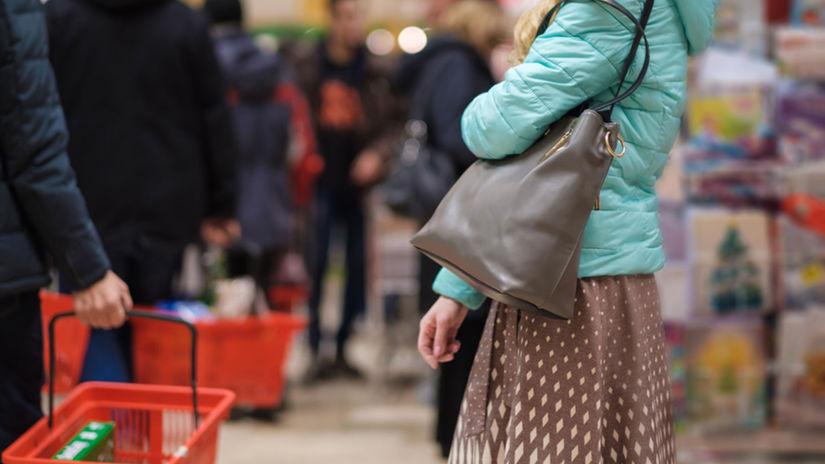 rad, čakanie, obchod, košík, nákup, market