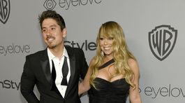 Speváčka Mariah Carey a jej priateľ Bryan Tanaka.