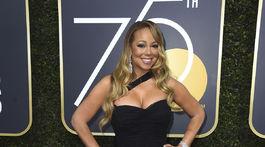 Speváčka Mariah Carey si obliekla róbu Dolce & Gabbana.