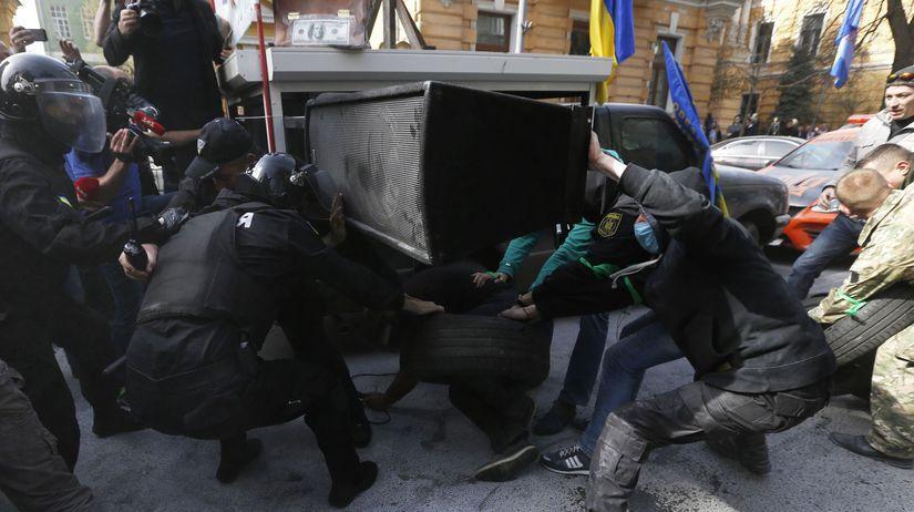 Ukrajina protest