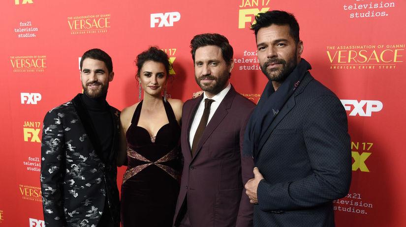 Darren Criss, Penelope Cruz, Edgar Ramirez a...
