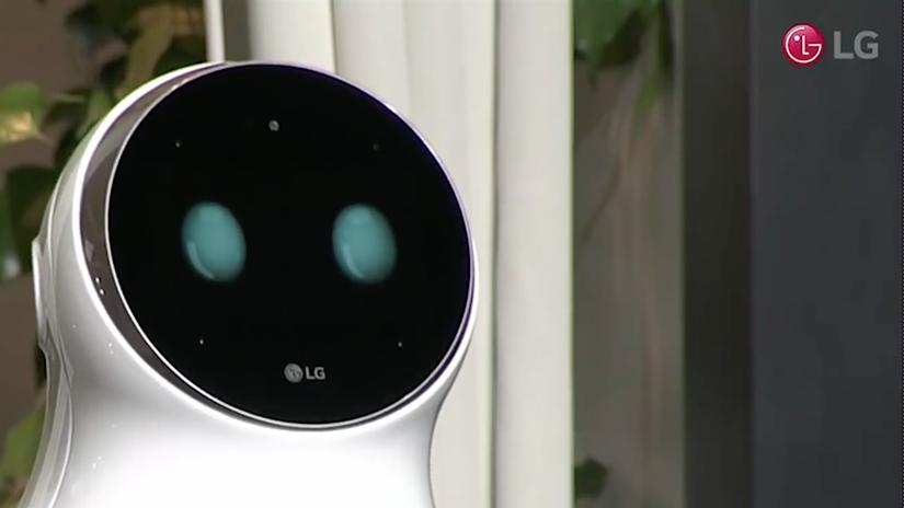LG, Cloi, robot
