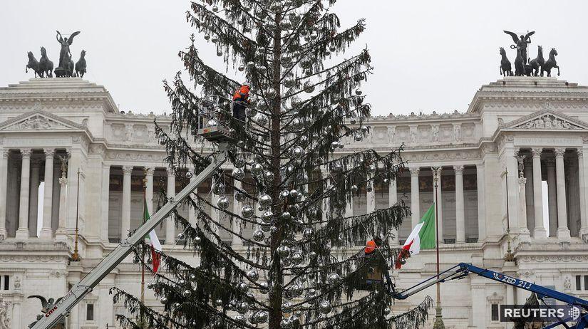 Rím, stromček