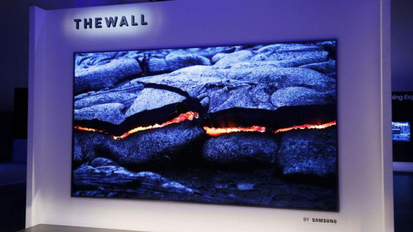 Samsung, The Wall, modulárny televízor