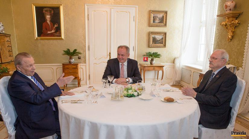 stretnutie troch prezidentov, Andrej Kiska,...