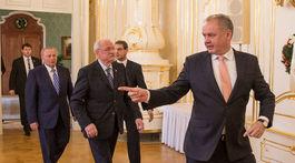 stretnutie troch prezidentov, Kiska, Gašparovič, Schuster,