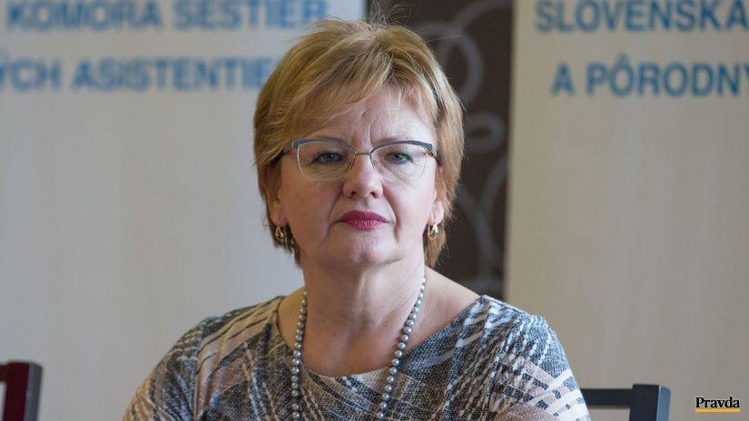 bývalá ministerská sestra Tatiana Hrindová