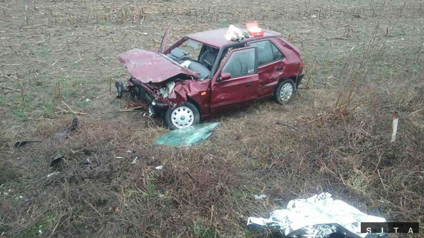 Dopravná nehoda, trenčianske teplice