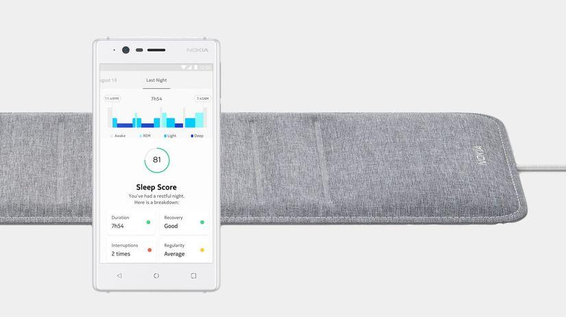 nokia, Nokia Sleep, podložka pod matrac