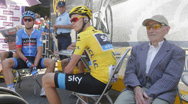 Robert Marchand, Christopher Froome