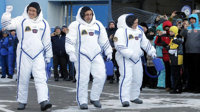 astronaut, ISS, Norišige Kanai, Anton...