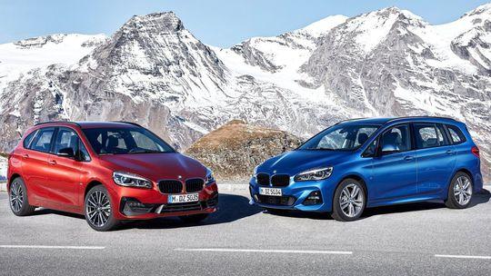 BMW 2 Active/Gran Tourer: Športovejší vzhľad a motory s dvoma turbami