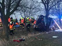 Havária autobusu