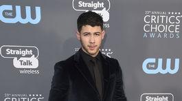 Herec Nick Jonas.