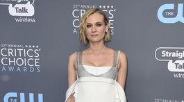 Herečka Diane Kruger prišla v róbe od Very Wangovej.