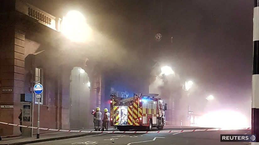Nottingham požiar