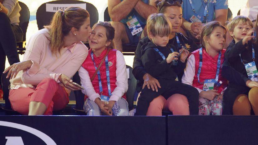 Roger Federer, deti