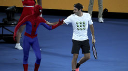 Roger Federer, Spiderman