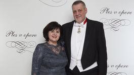 Diplomat Ján Kubiš s manželkou.