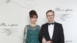 Dizajnérka Renáta Kliská s manželom.