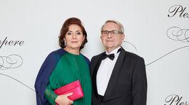 Ekonóm a pedagóg Juraj Stern s manželkou.