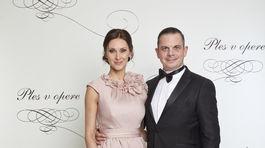 Herec Dano Dangl a jeho manželka Beáta Danglová.