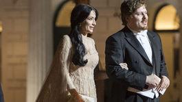 Lucia Hablovičová a módny návrhár Boris Hanečka prichádzajú na 18. ročník dobročinného Plesu v opere.