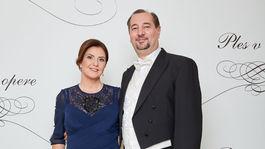 Moderátorka Iveta Malachovská s manželom Martinom.