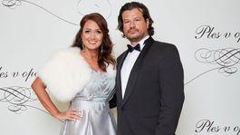 Moderátorka Karin Majtánová s manželom.
