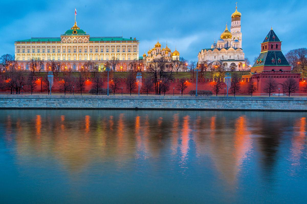 Moskva Kremeľ