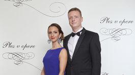 Ondrej Gallo, riaditeľ Nadácie pre deti Slovenska s manželkou Elenou