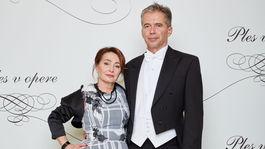 Podnikateľ Peter Princ s manželkou.