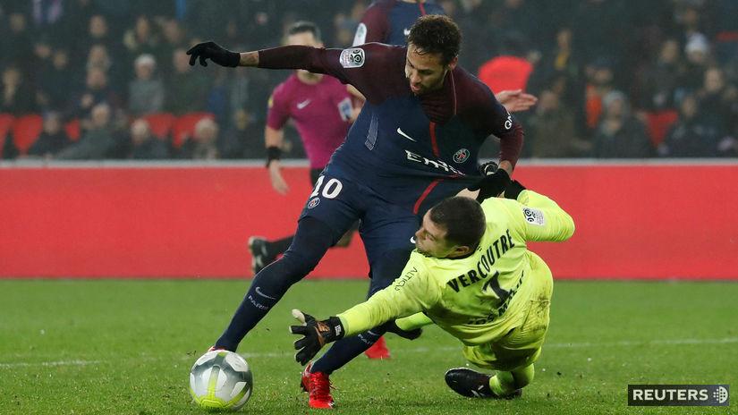 Rémy Vercoutre, Neymar
