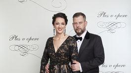 Režisér Pepe Majeský s manželkou Silviou.