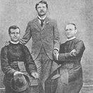 Ladislav Moyš, Vavro Šrobár, Andrej Hlinka