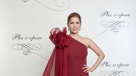 Monika Reháková na 18. Plese v opere.
