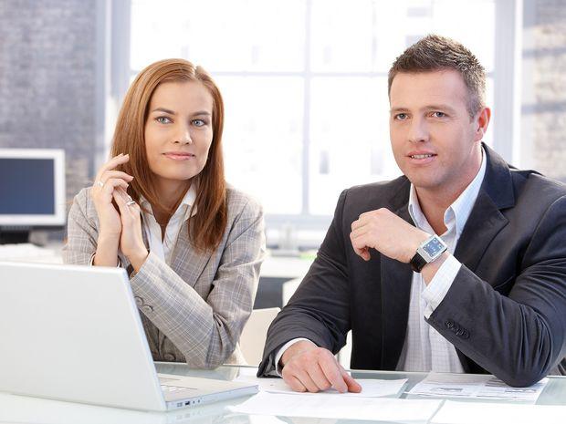 pracovný pohovor, práca, muž, žena
