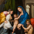 Raffael Madonna dell Impannata  1511 Galleria Palatina  Palazzo Pitti  Uffizi  Florenz Gabinetto Fotografico delle Gallerie degli Uffizi