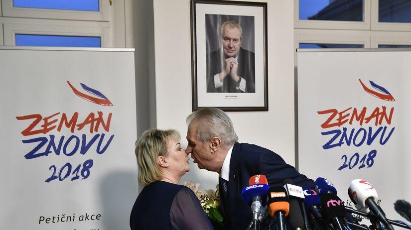 Miloš Zeman, Ivana Zemanová